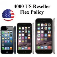USA (США) Initial Activation Policy ID: 4000 US Reseller Flex Policy - iPhone 5, 5C, 5S, 6, 6S, 7, 7+, SE (любые IMEI)
